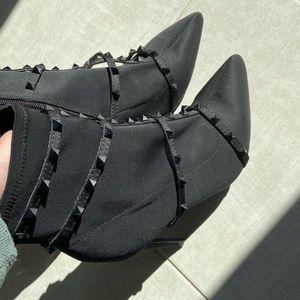 Heeled studded boots from Fashion Nova